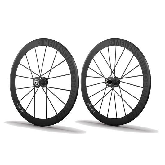 Lightweight Meilenstein Obermayer Tubular Schwarz Edition Wheelset