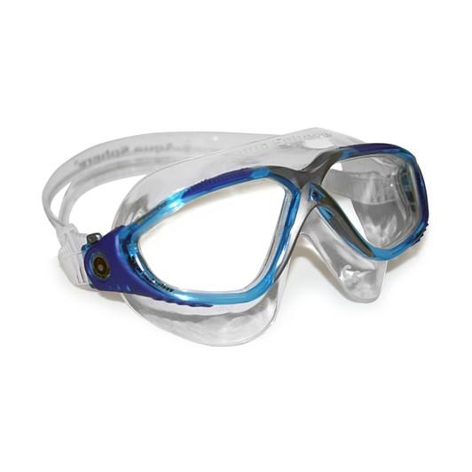 Aqua Sphere Vista Goggle Blue Frame - Clear Lens