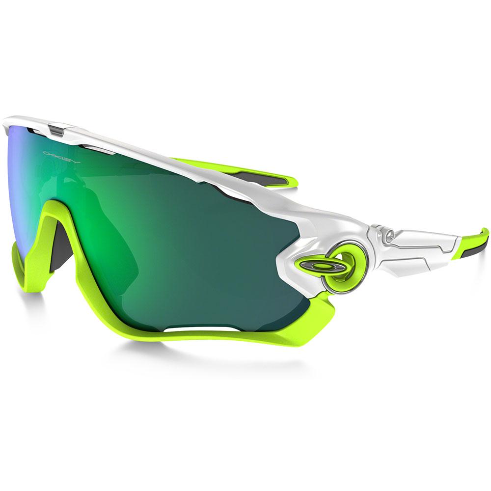 Oakley Jawbreaker Sunglasses Jade Iridium Lens