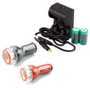 Exposure Lights Flash Flare Light Set Pack With USB Charger