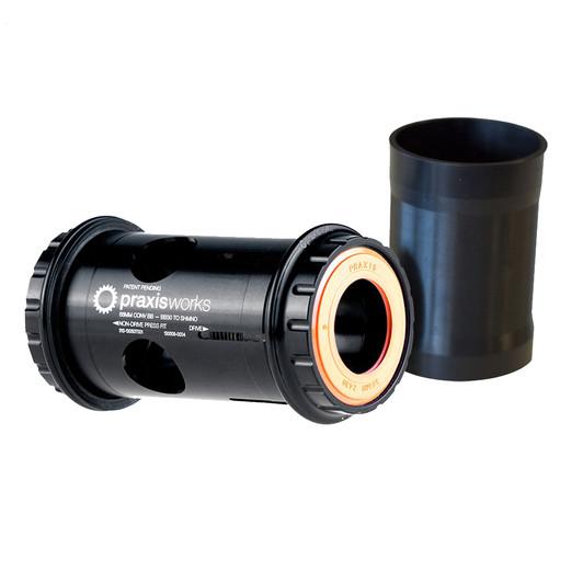 Praxis Works 68mm Shimano 24mm Converter - BB30/PF30 Ceramic Bracket