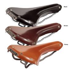 Brooks England Swallow Leather Saddle with Titanium Rails