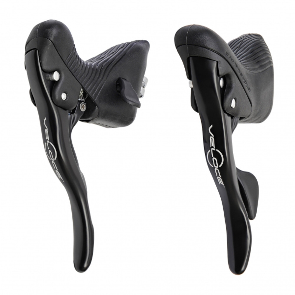 Campagnolo Veloce Black 10 Speed Ergo Levers