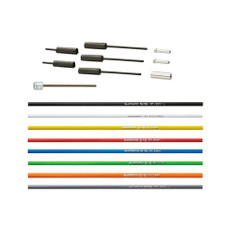 Shimano Ultegra 6800 Road Gear Cable Set, Polymer Coated Inners