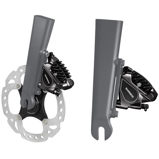 Shimano BR-RS505 Road Flat Mount Hydraulic Disc Brake Caliper Front