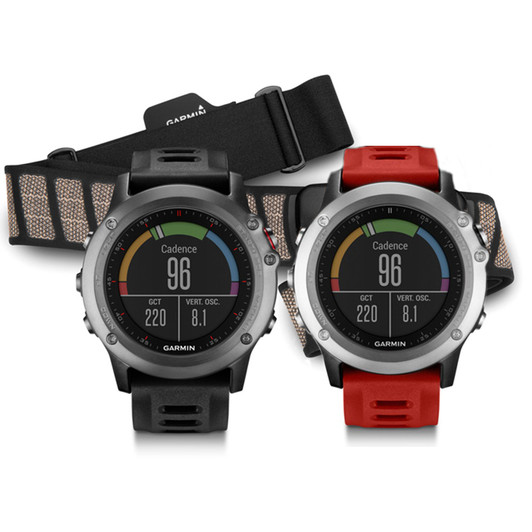 Garmin Fenix 3 GPS Sports Watch Performer Bundle (Heart Rate)