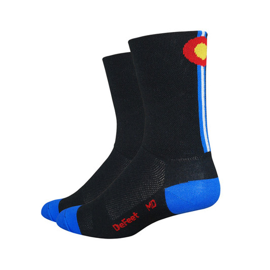DeFeet Aireator Tall 6 Colorado Socks