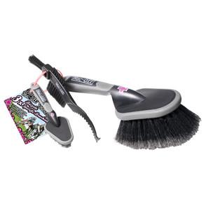 Muc-Off 3 X Premium Brush Set