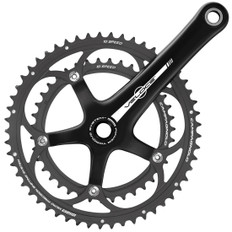 Campagnolo Veloce Black 10s Power Torque Chainset 53/39
