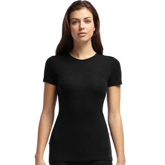 Icebreaker Everyday Crewe Neck Short Sleeve Womens Base Layer