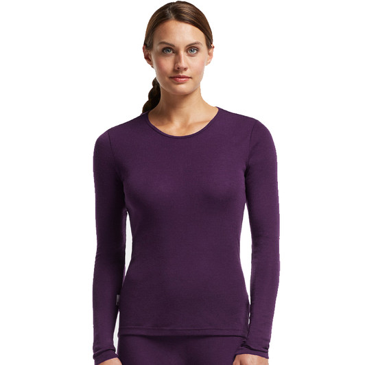 Icebreaker Everyday Crewe Neck Long Sleeve Womens Base Layer