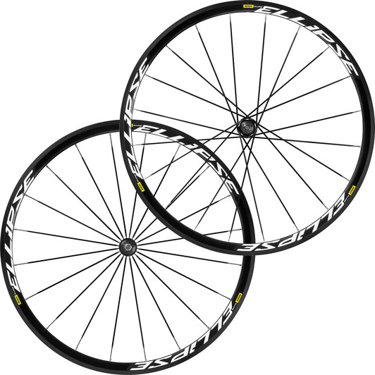 Mavic Ellipse Clincher Track Wheelset 2018