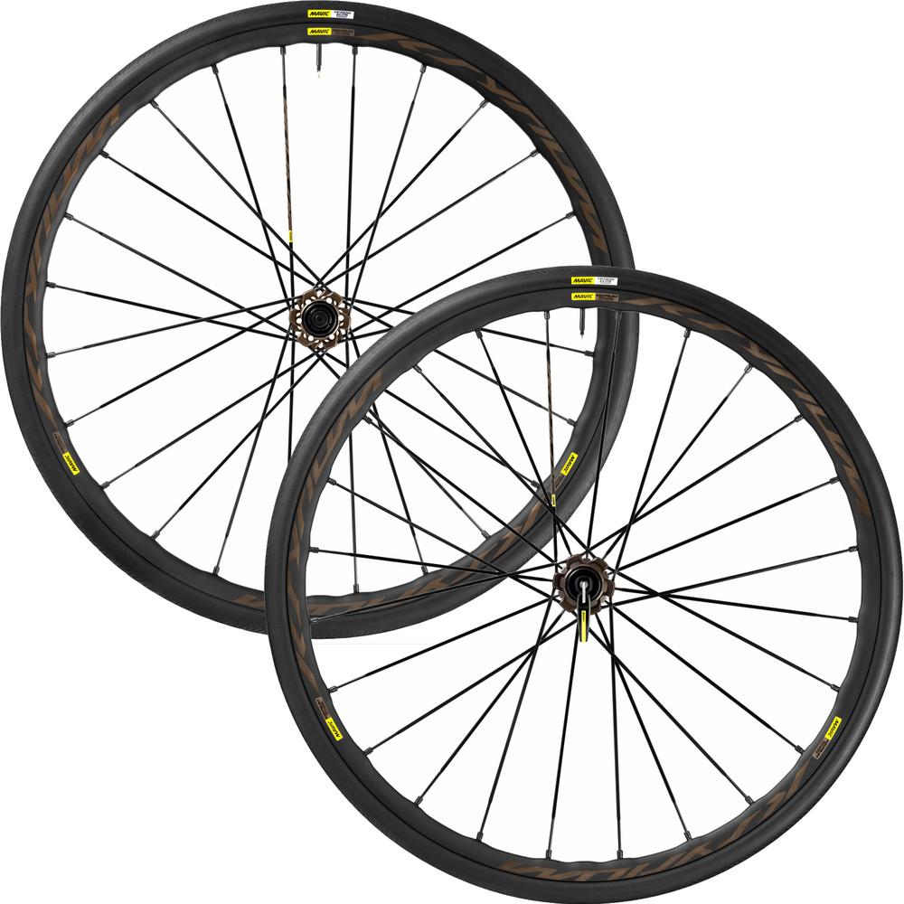 Mavic Ksyrium Pro AllRoad 28 International 6 Bolt Wheelset 2016