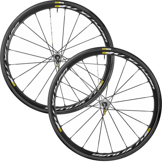 Mavic Ksyrium Pro 25 Disc International 6 Bolt Wheelset 2016