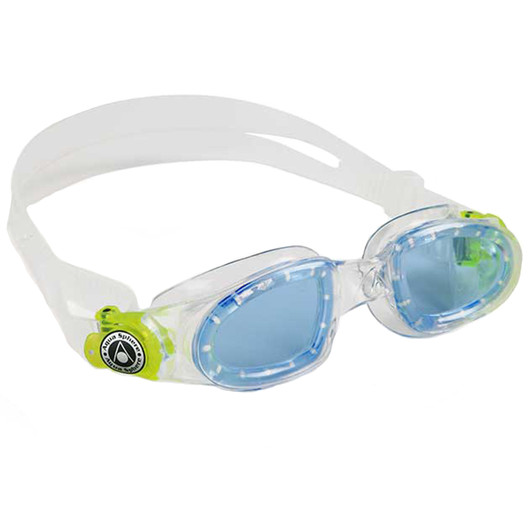 Aqua Sphere Moby Blue Lens Kids Swimming Goggles