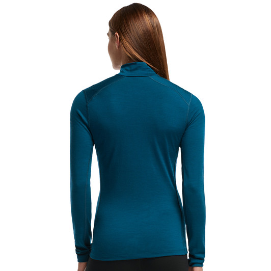 Icebreaker Oasis Half Zip Long Sleeve Womens Baselayer