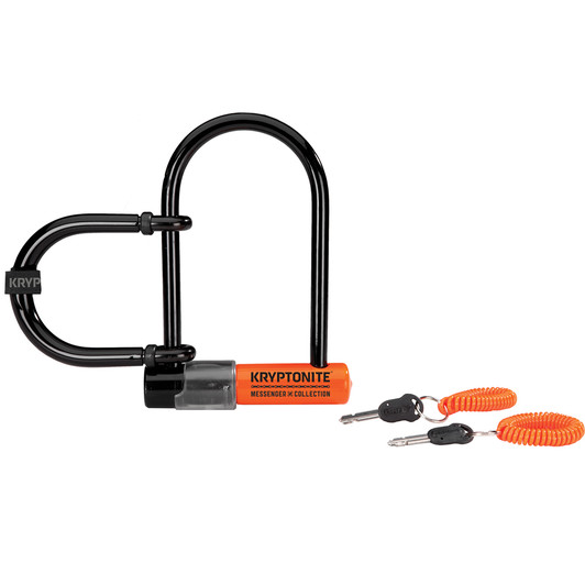 Kryptonite Messenger & Commuter Mini With U-lock Extender