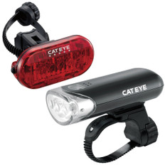 Cateye EL-135 and Omni 5 TL-LD155-R Light Set