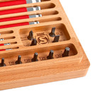 Silca HX1 Home & Travel Tool Drive Kit In Wood Box