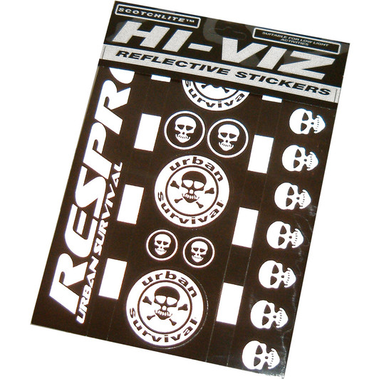 Respro Hi-Viz Urban Survival Sticker Kit